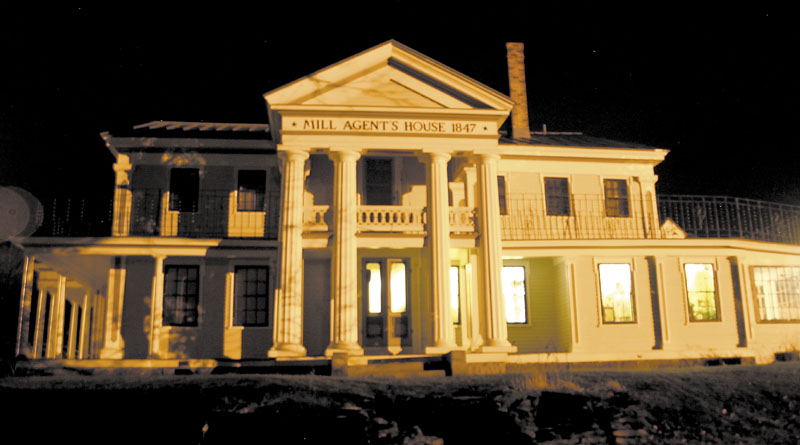 GHOSTLY: The Mill Agent's House in North Vassalboro is haunted, says owner Ray Breton, below. Over the last two years, 1,500 people have visited the home seeking encounters with ghosts. Breton bought the home in 1995. Since then, he has bought nine properties in town.