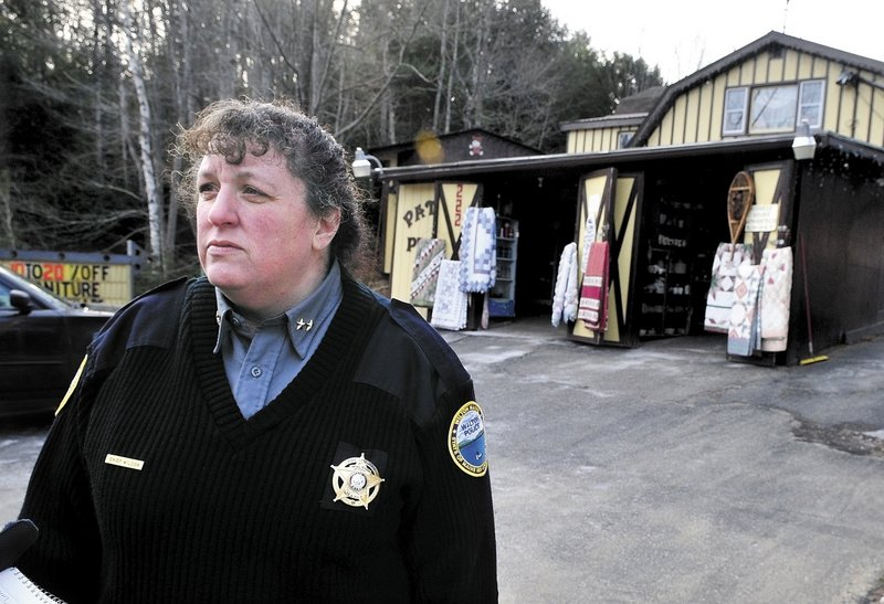 FINANCIAL REALITIES: Heidi Wilcox became police chief in Wilton last fall.
