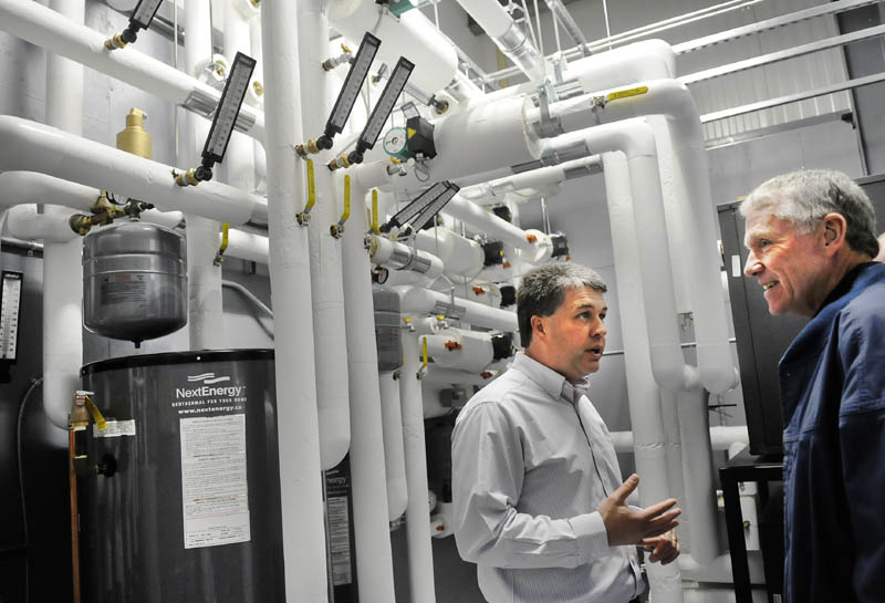 Geothermal system tapped for new building of o 39 connor for O connor motors augusta maine