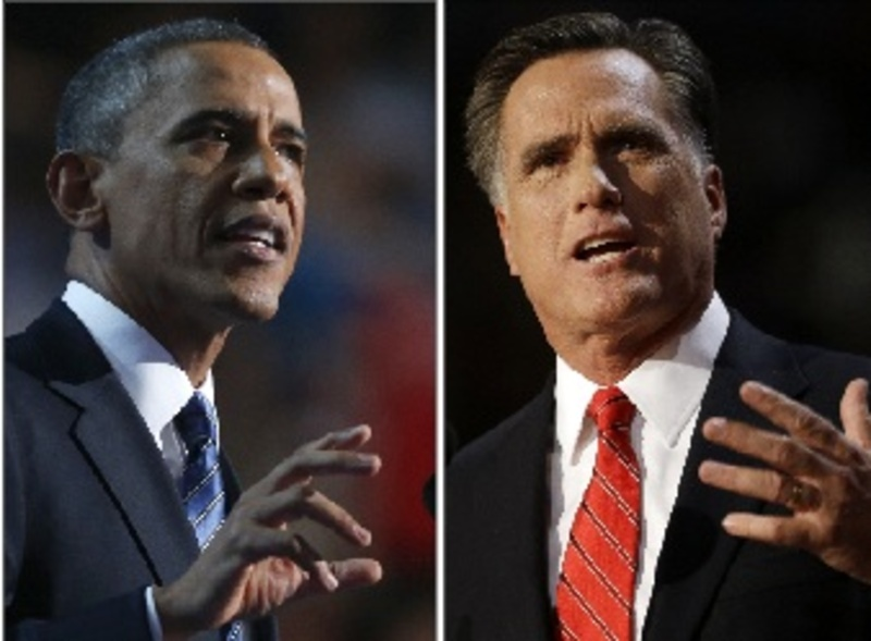 President Obama speaks Thursday at the Democratic convention, and Mitt Romney addresses Republicans on Aug. 30.