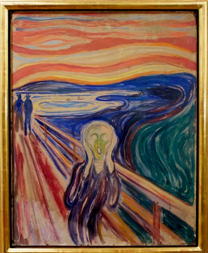 One of four versions of Edvard Munch's painting