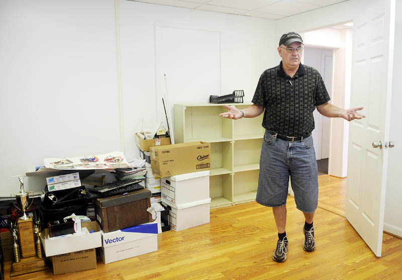 Bob Verrill stands in the empty Augusta offices of Big Brothers Big Sisters of Kennebec Valley in Augusta. Verrill, the interim executive director, said although the mentoring program has closed in Augusta, the midcoast chapter of Big Brothers Big Sisters is applying to take over operations in Kennebec and Somerset counties.