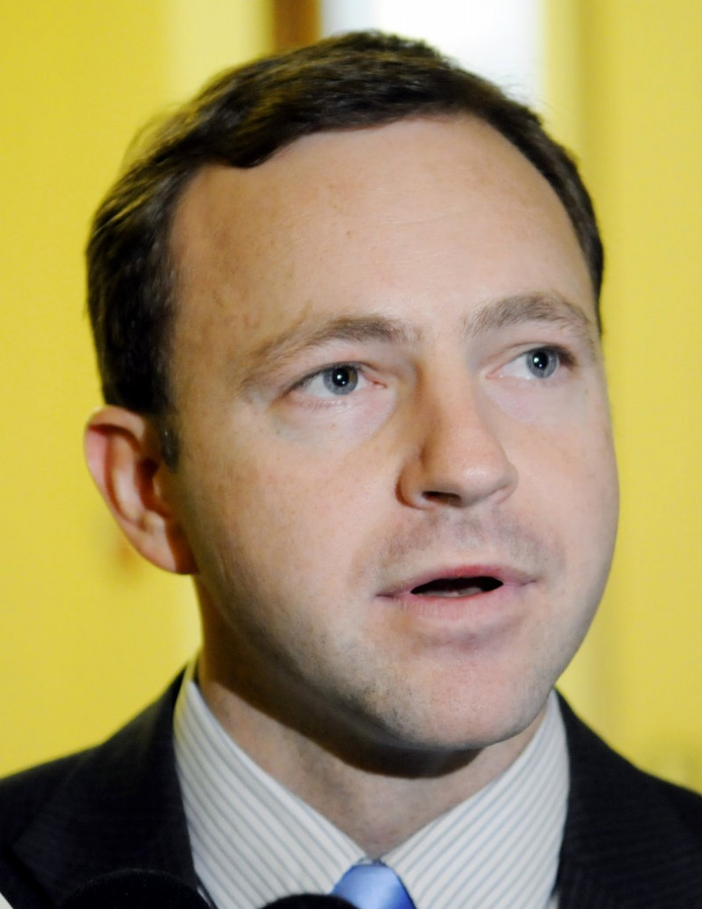 Incoming House Speaker Mark Eves, D-North Berwick