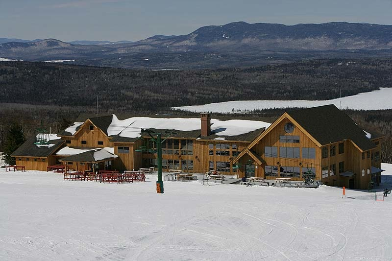 The $13 million renovated lodge was one of many upgrades the Berry family spent during their 10-year ownership of Saddleback. They put the ski area up for sale and will begin looking for a buyer outside Maine next week.