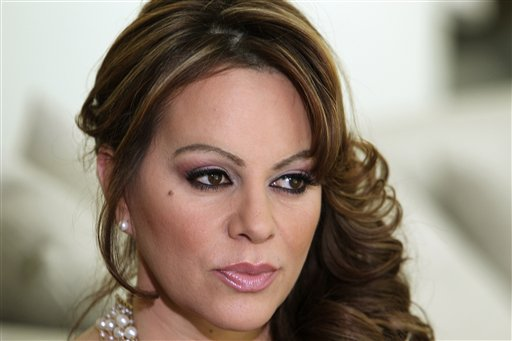 A March 8, 2012, photo of Mexican-American singer and reality TV star Jenni Rivera, who died at the peak of her career when the plane she was traveling in nose-dived into the ground while flying from the northern Mexican city of Monterrey to the central city of Toluca early Sunday morning.