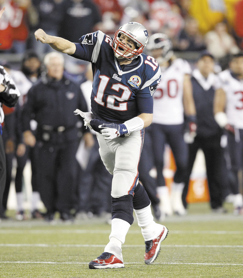 BEEN THERE, DONE THAT: In 2001, Tom Brady replaced injured New England Patriots quarterback Drew Bledsoe. Colin Kapernick is in a similar situation this season in San Francisco, having replaced injured 49ers starter Alex Smith. Gillette Stadium