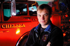 Chelsea Fire Department Chief Shawn Ramage