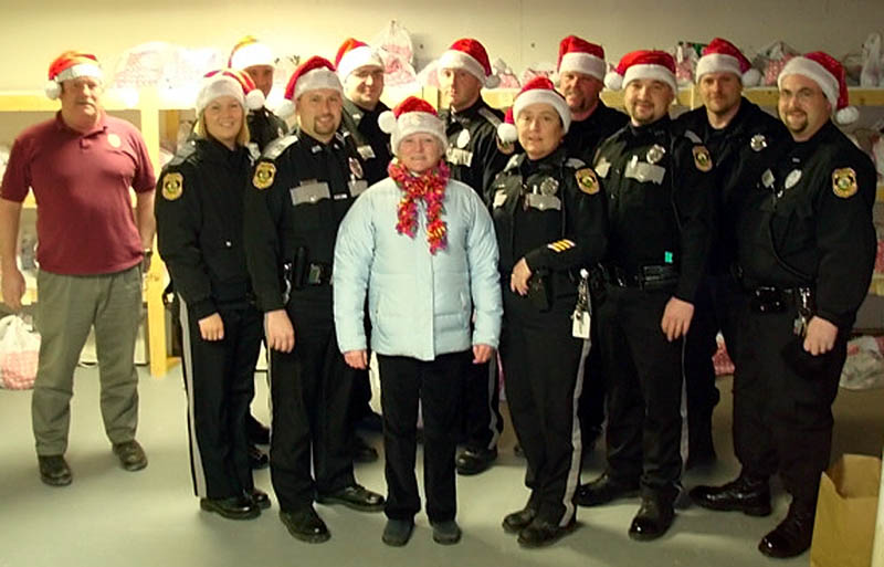 Contributed photo Fairfield police officers involved in Cops Care for Kids program.