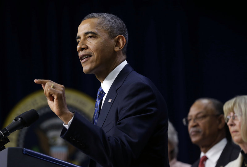 President Obama, gesturing during a recent speech, is preparing to make the case for how changes in immigration laws could benefit businesses, education, health care and public safety. Congressional committees could hold hearings on immigration legislation as soon as late January or early February.