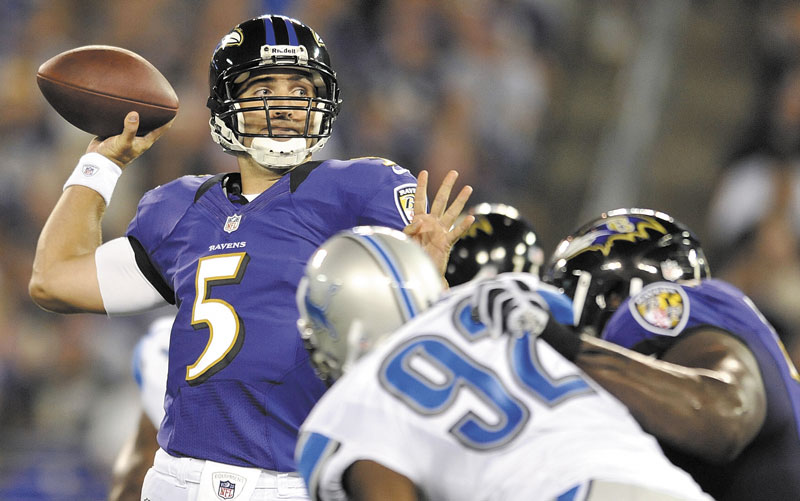 READY FOR THE BIG GAME: Baltimore Ravens quarterback Joe Flacco has won a playoff game in each of his first five seasons in the NFL, but will play in his first Super Bowl on Sunday.