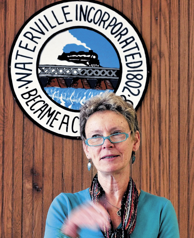 Waterville Mayor Karen Heck