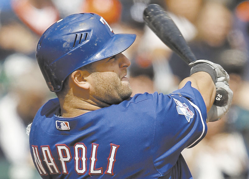 FINALLY IN THE FOLD: The Boston Red Sox officially signed Mike Napoli to a one-year, $5 million contract that could be worth as much as $13 million. Napoli has a a hip condition known as avascular necrosis.