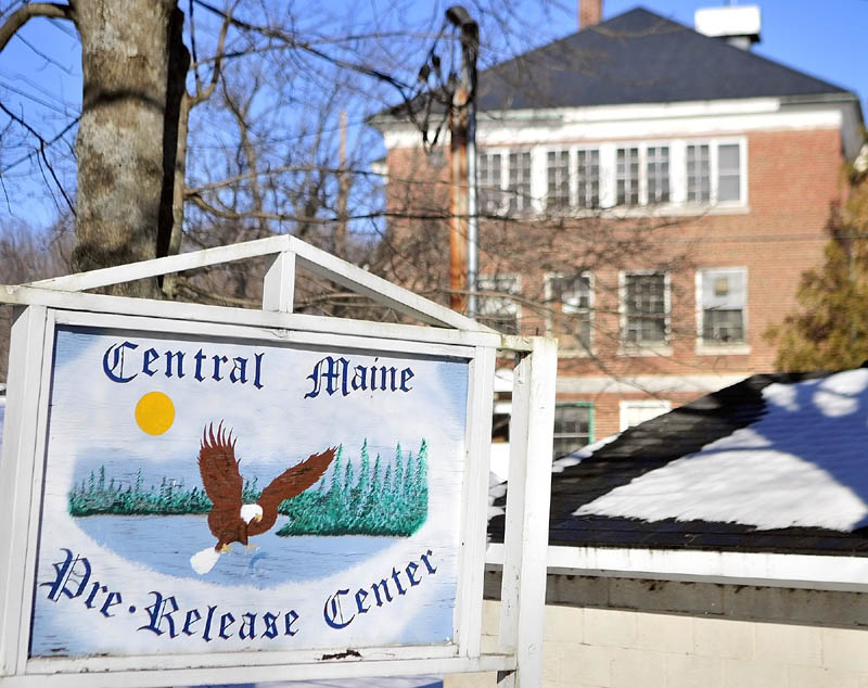 This photo taken on on Jan. 10 shows the Central Maine Pre-Release Center in Hallowell.