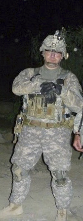 The last photo taken of Staff Sgt. Eric Shaw shows him in Afghanistan's Kunar province, just before he left on a mission to seize the village of Daridam from the Taliban on June 27, 2010. He was killed during the mission while trying to protect Afghan allies from fire coming from insurgents across the Ghaki Valley.