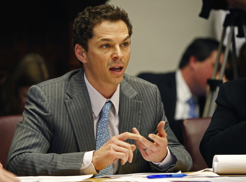 "Rejecting Gov. Paul LePage's call for a special session to address problems for rural nursing homes, Senate President Justin Alfond said, ""We are not going to call ourselves back in so that Gov. LePage can veto another bill."