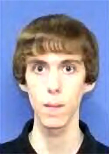 An undated photo of Adam Lanza released by law enforcement officials.