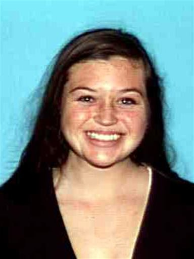 This image provided by the Orange County Sheriff's Department shows Kyndall Jack, 18, who has been missing since Sunday. Her companion, Nicholas Cendoya, 19, was found Wednesday night.