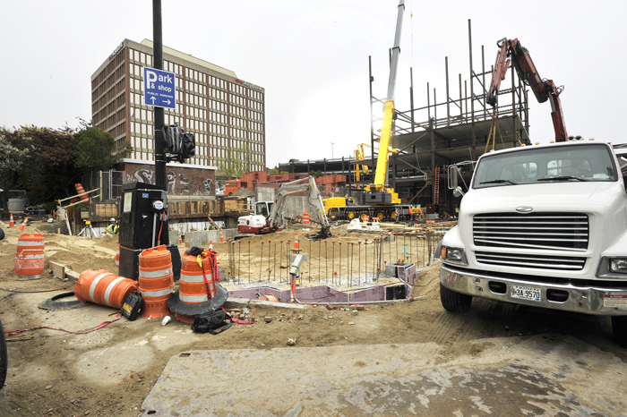 Two new hotel construction projects are under way in Portland's Old Port District, including the Hyatt Place Hotel which is being built on Fore Street. Maine, which is a destination state for tourists, matched U.S. employment growth only in leisure and hospitality.