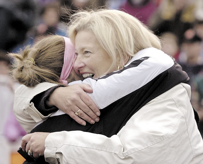 ALL IN: Skowhegan Area High School field hockey coach Paula Doughty will be inducted into the Maine Sports Hall of Fame on Sunday. Doughty has a career record of 438-80-17 and 14 Class A state titles.