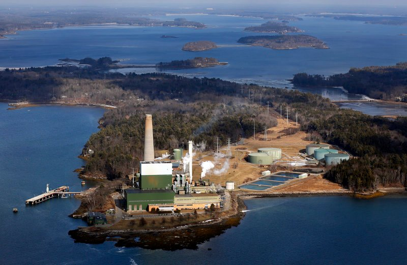 The Wyman Power Station in Yarmouth, a Casco Bay landmark, and a smaller oil-fired generator in South Portland are on the market.