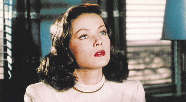 "Gene Tierney portrays Ellen, a beautiful but unstable woman, in ""Leave Her to Heaven,"" which plays at 6:30 p.m. Friday at the Waterville Opera House."