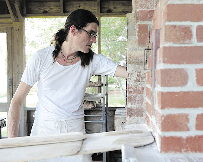 Richard Miscovich, an associate professor at Johnson & Wales College of the Culinary Arts in Providence, R.I., is scheduled to speak on wood-fired oven cooking techniques at the annual Kneading Conference this week in Skowhegan.