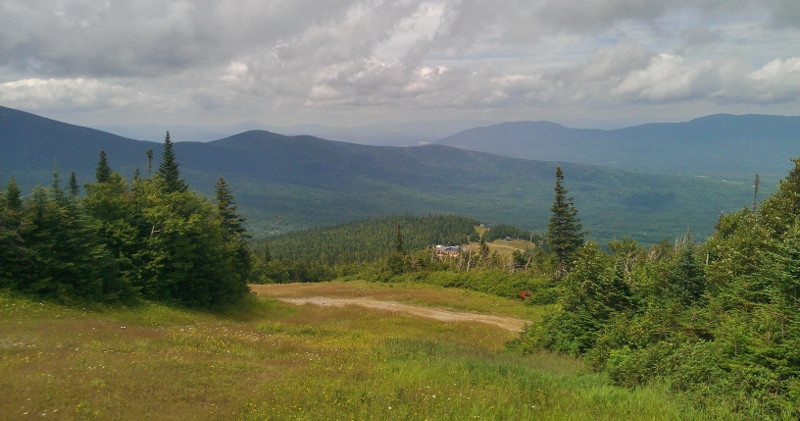 Rugged terrain, game wardens said today, is hampering the search for missing Appalachian Trial hiker Geraldine Largay, 66, of Tennessee, who went missing last week on a section of trail between Rangeley and Wyman Township. On the trail, near Sugarloaf Mountain in Carrabassett Valley, steep peaks and valleys dominate the hike.