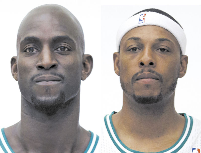 KEVIN GARNETT/PAUL PIERCE