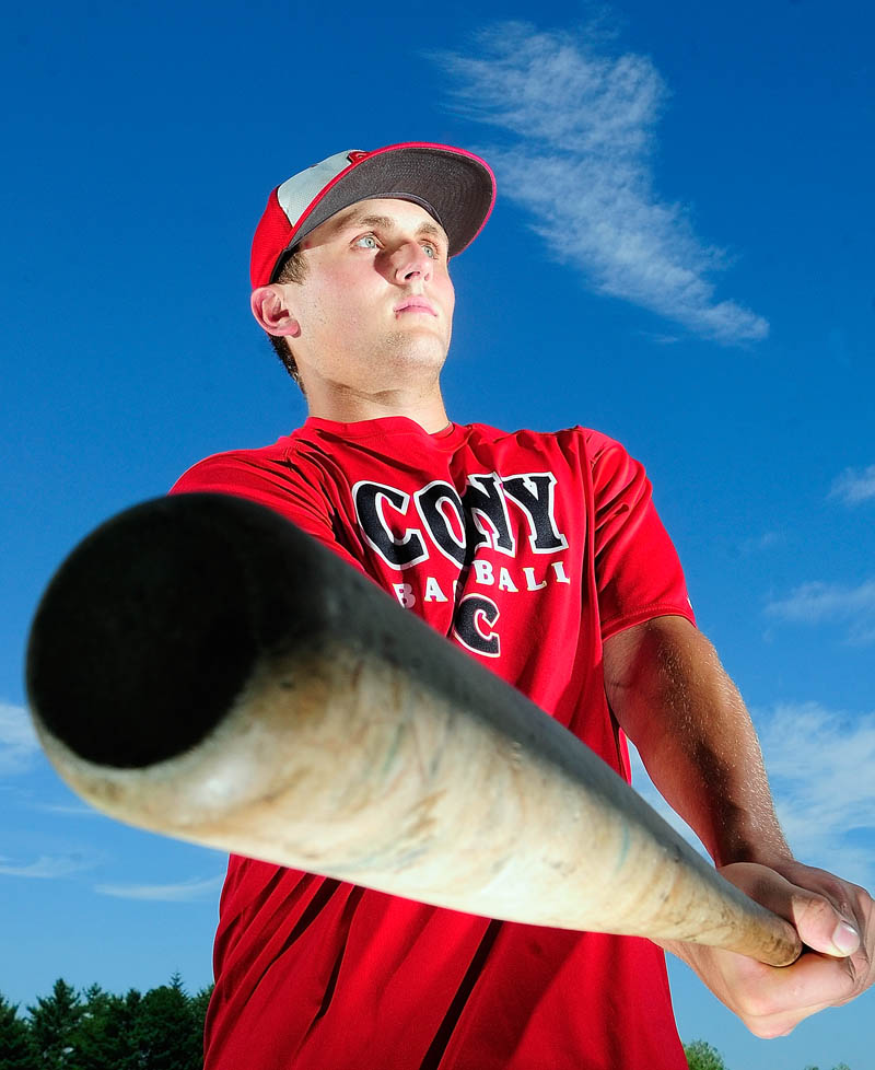 Zack Lachance is the Kennebec Journal Baseball Player of the Year.