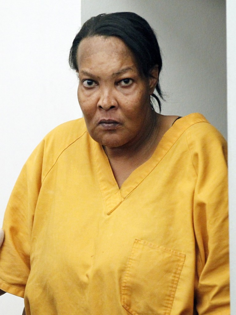 File-In Sept. 11, 2012, file photograph taken in Jackson, Miss., shows Tracey Lynn Garner. Garner pleaded not guilty Tuesday, June 18, 2013, to killing an Alabama woman by giving silicone injections as a buttocks enhancement. (AP Photo/Rogelio V. Solis, File)