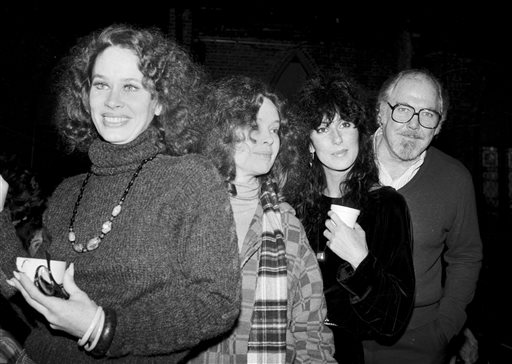 Karen Black, left, Sandy Dennis, Cher and director Robert Altman are shown in New York in this 1981 photo.