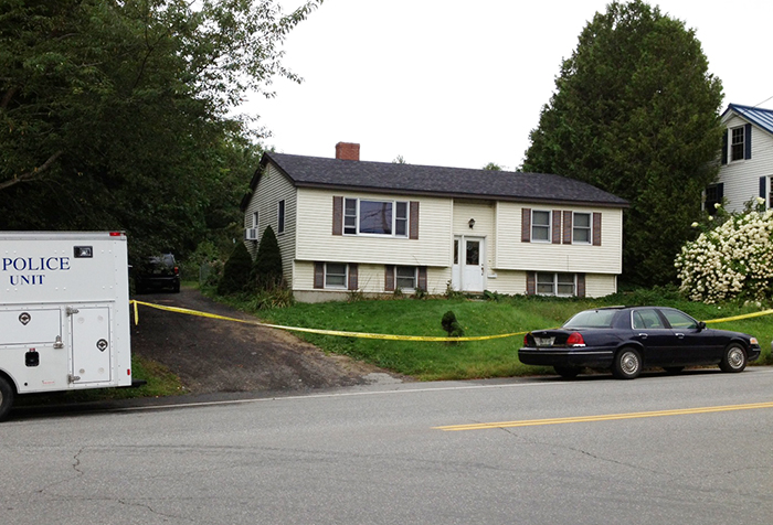 The home at 162 Waldo Ave. in Belfast, where Lynn Arsenault, 55, was shot and killed and her son, Matthew Day, 21, was wounded.