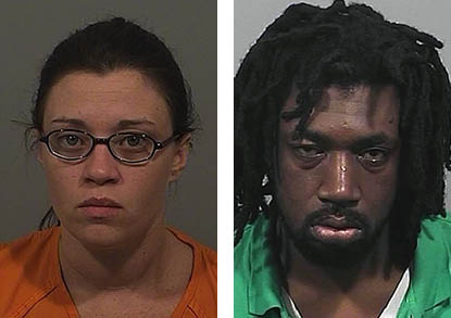 Tanya Cahill and William Murchison, both of Lewiston, were charged with aggravated trafficking in cocaine base, police said.