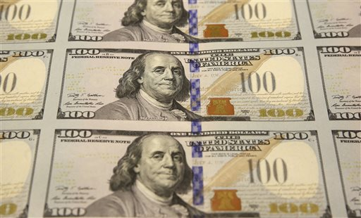 The Bureau of Engraving and Printing Western Currency Facility in Fort Worth, Texas, is making the new-look $100 bills that include new security features in advance of the Oct. 8 circulation date.