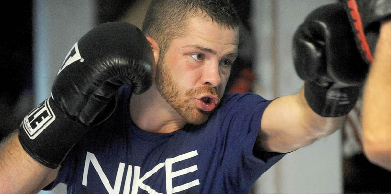 Brandon Berry is turning to a professional boxing career in the hope that it will help him save his family's store in West Forks.