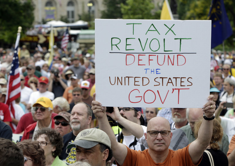Tea party activists called on the government to audit the IRS in June, but many conservatives have turned their attention to an attempt to defund President Obama's signature health care law. The effort is fracturing the Republican Party.