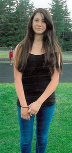 Conway, N.H., police released this photo of 14-year-old Abigail Hernandez of North Conway. She was last seen Wednesday afternoon leaving school.