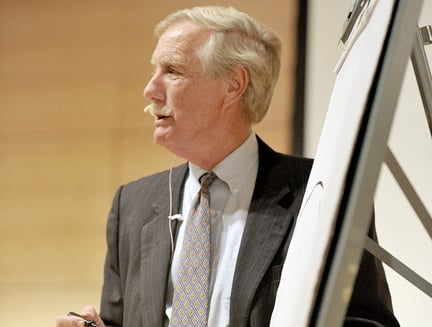 "Sen. Angus King, one of the ""group of 14"" who urged negotiation, is named to a key conference committee."