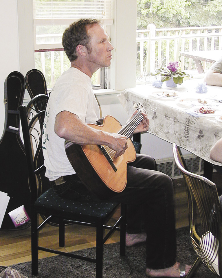Peter Miller loved to play the blues. Saturday, 60 acres that were once his home will be dedicated by the Kennebec Land Trust.