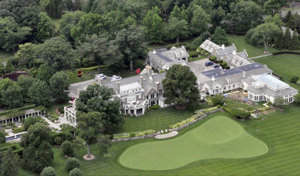 This Greenwich, Conn., estate belongs to billionaire hedge fund owner Stephen Cohen. Cohen's company, hedge fund giant SAC Capital Advisors, agreed Monday to plead guilty to fraud charges and to pay a $1.8 billion financial penalty.