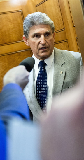 Sen. Joe Manchin, D-W.Va., says Democrats are seeking not to repeal Obamacare, but to fix problems with the law.