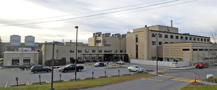 WORK UNDERWAY: Thayer Center for Health in Waterville is undergoing a $16 million renovation project that will include moving some services. Completion is expected in the fall of 2014.