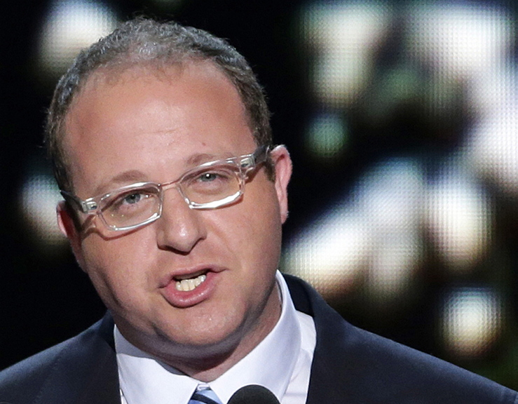 """Rep. Jared Polis, D-Colo. who also is gay, posted on Twitter: """"Congratulations to my colleague"""