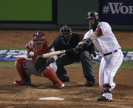COMING BACK?: The Boston Red Sox offered a $14.1 million qualifying offer to first baseman Mike Napoli on Monday.