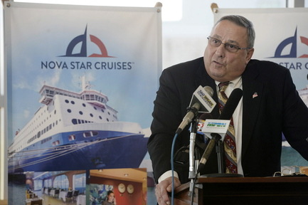 """This ferry is going to be a great thing"" for both Maine and Nova Scotia, Gov. Paul LePage said Monday at a news conference in Portland."