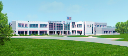 Guard project: The Maine Army National Guard plans to build a 100,000-square-foot headquarters between Civic Center Drive and Maine Veterans' Memorial Cemetery.