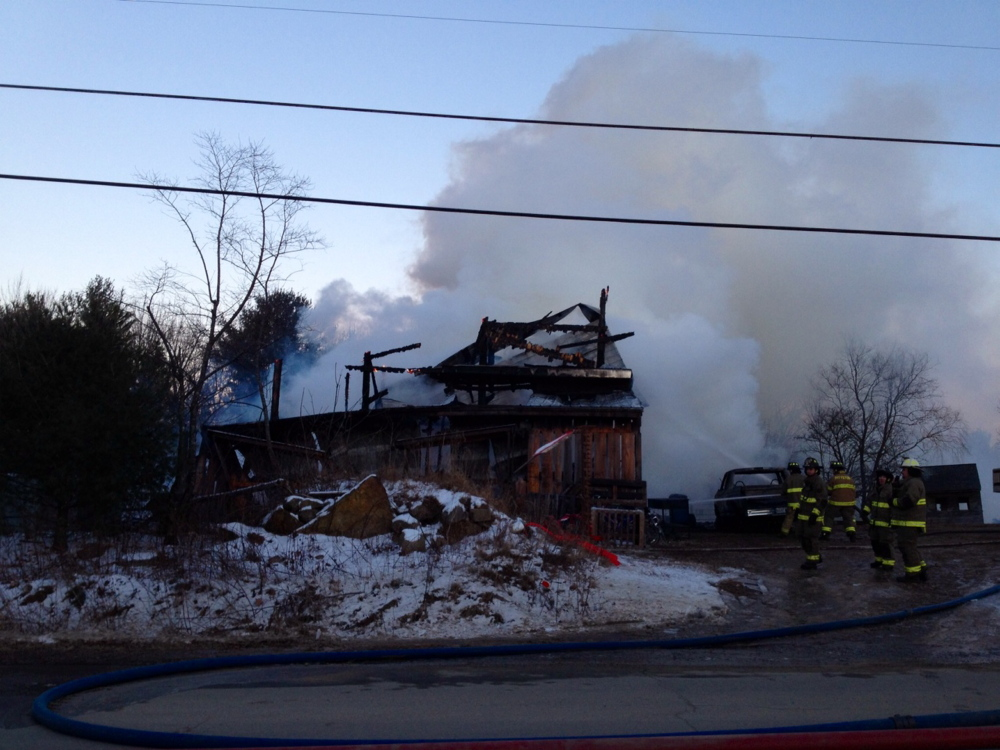 Pittston Fire: Firefighters responded to a barn fire about 3:10 p.m. Friday on Nash Road in Pittston.