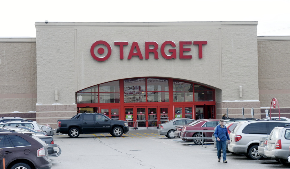 Target has five stores in Maine, according to its website, in South Portland, above, and in Augusta, Bangor, Biddeford and Topsham. Target representatives have not said how many customers in Maine were affected.
