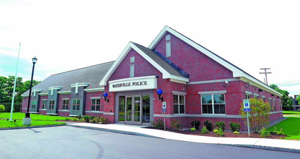 NEW DIGS: The new Waterville Police Department shown as it neared completion earlier this year. The department moved into the station in July.