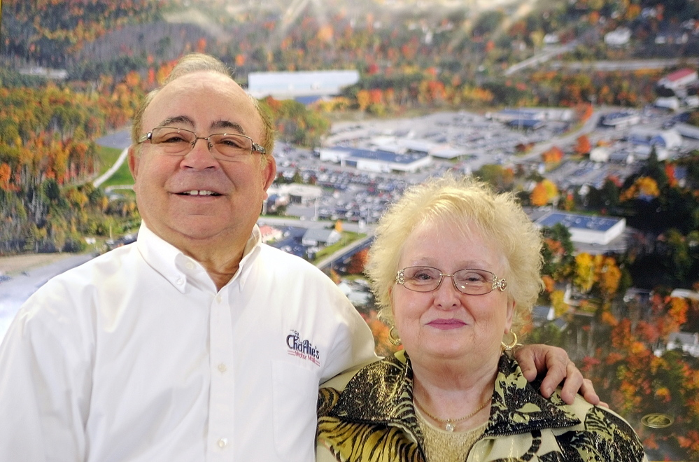 CHAMBER AWARDS: Charlie and Nancy Shuman, of Winthrop, will be awarded a Kennebec Valley Chamber of Commerce Special Service Award for their charitable giving.
